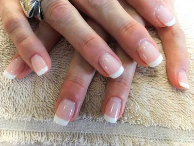 Polygel French Tip Manicure